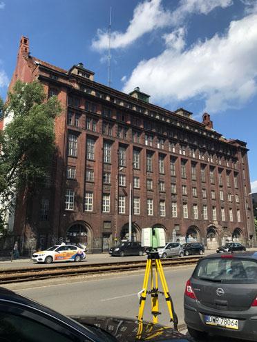 Budynek piekarni mamut we Wrocławiu