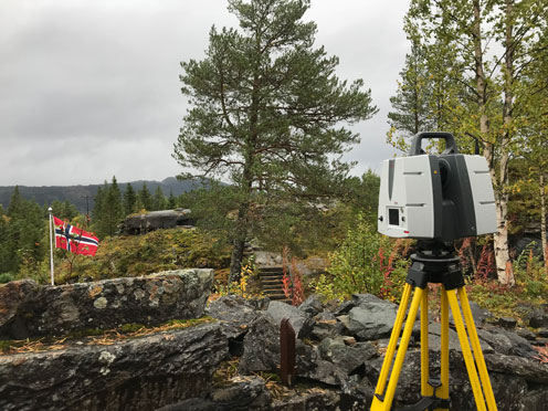 Fort Hegra w Norwegii